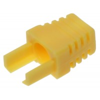 Interne kabel huls geel (RJ45 boot) voor RJ45 connector