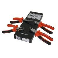Tangenset Haupa VDE En 60900 4-Delige Elektro Set Professioneel.
