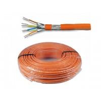 Cat7A SFTP (PIMF) Netwerkkabel 100meter (Harde kern)